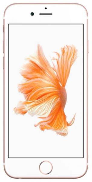 Смартфон Apple iPhone 6S 128GB Rose Gold (MKQW2RU)