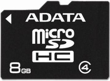 A-DATA Turbo microSDHC class6 8GB